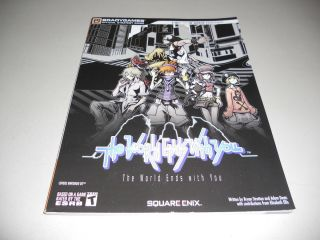 BradyGames Official Strategy Guide for The World Ends With You