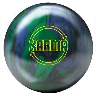 Brunswick Karma Blue Green Bowling Ball 16 lb $159 95 Brand New in Box