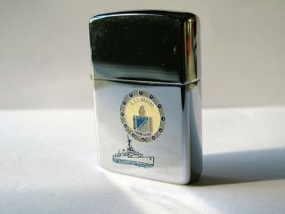 Vintage Zippo US Navy USS Braine Lighter