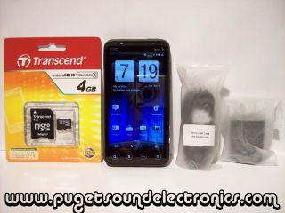 HTC EVO 3D 4GB Black Boost Mobile Smartphone