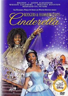 Cinderella 1997 Brandy Norwood Whitney Houston DVD New