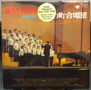 Father Flanagans Boys Town Choir Tour in Japan 1968 LP