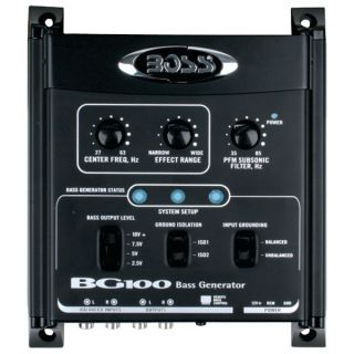 Boss Audio BG100 Bass Generator with Remote Level Control