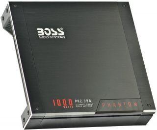 New Boss PH2500 1000W 2 CH Car Audio Amplifier Amp 2 Channel 1000 Watt
