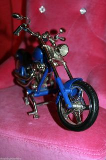Bratz Boyz Doll Size Blue Black Harley Davidson  Motorcycle Bike
