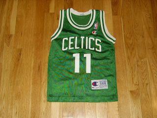 Champion Dana Barros Boston Celtics NBA Youth Throwback Basketball