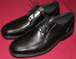 Bostonian City Lites Leather Oxfords Shoes 9 5 Blk New