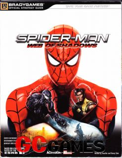 Spider Man Web Of Shadows BradyGames Strategy Guide PS3 Xbox 360