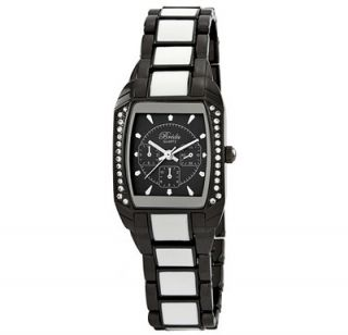 Breda Ceramal Black Ladies Crystal Watch Compare $249 00 New Buy Now