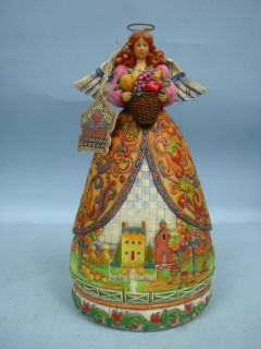 pa 17602 jim shore designs bountiful angel by enesco corporation