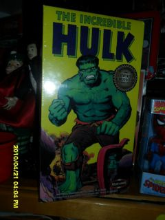 THE INCREDIBLE HULK VINTAGE REPRODUCTION MODEL KIT 1 8 SCALE NEW IN