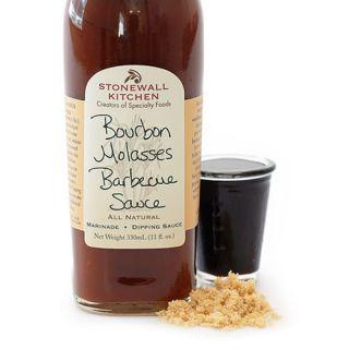 Stonewall Kitchen 2 Btls Bourbon Molasses Barbecue Sauce Marinade