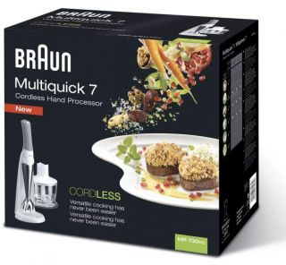 Braun Multiquick 7 Cordless Rechargeable Hand Blender Mr 730cc White