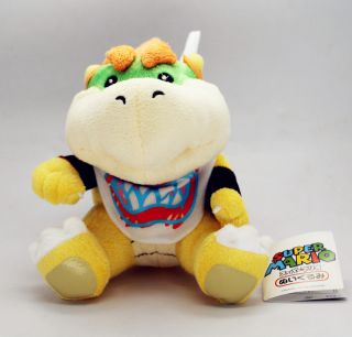 Plushie Bowser Jr New 7 Plush Toy Koopa Jr New with Tag