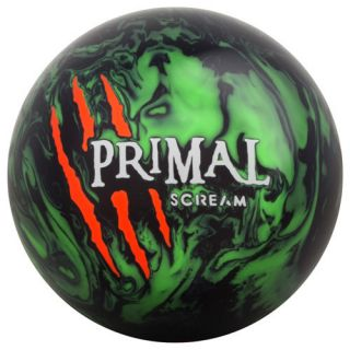 MOTIV BOWLING BALL PRIMAL SCREAM BLACK GREEN 12 13 14 15 16 LBS