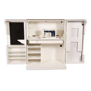 Sewing Box Cutting Table Sewing Machine Table Thread Cabinet Garment