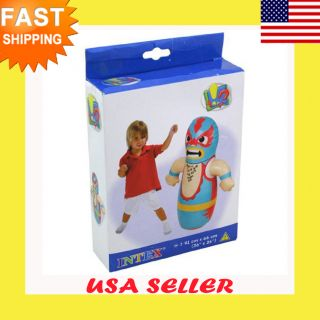 Bop Bag Boxing Punching Kid Inflatable Toys Wrestler Boxer