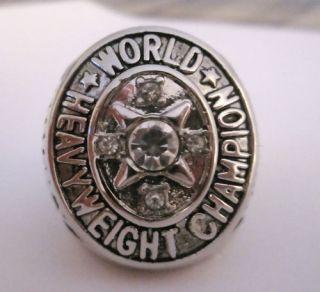 World Championship Ring Boxing Rocky Marciano Belt RARE