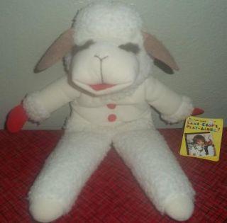 Vintage 1992 Shari Lewis Lamb Chop Hand Puppet Plush 17