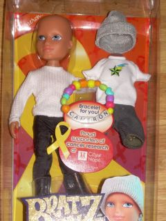 Hope Cameron City of Hope Cancer Research Boy Doll w Bracelet