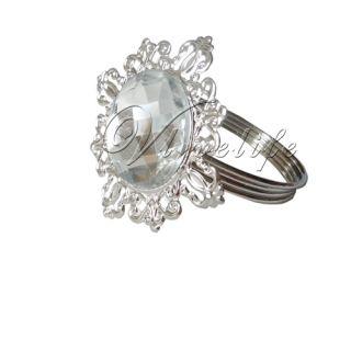Napkin Rings Serviette Holder Wedding Bridal Shower Favor