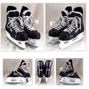 Bauer Supreme Junior 90 Boys Ice Hockey Skates Sz 5D Carbon Steel