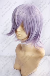 156 Un Go Inga Brack Cosplay Costume Wig Light Purple Free Wig Cap