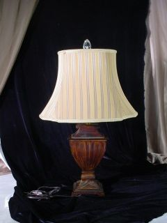 Bradburn Gallery Courier Rustic Brass Old World Table Lamp w Shade