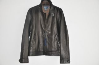 695 Polo Ralph Lauren Bradford Leather Jacket Coat M