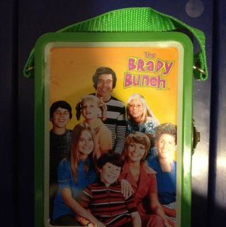 THE BRADY BUNCH SMALL LUNCH BOX VINTAGE TV OLD TELEVISION COLLECTIBLE