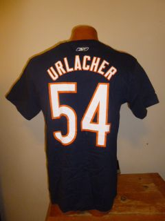 NFL Mens Chicago Bears Brian Urlacher Name Number Shirt New L