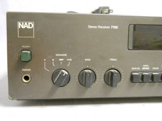 Vintage Nice NAD Stereo Receiver Model 7155 Made in Japan