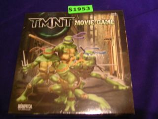 TMNT Movie Game Briarpatch Board Game S1953