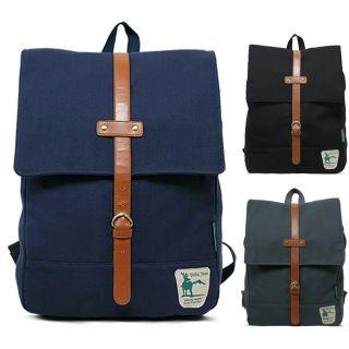 Brand New Campus Backpack School Bag Bookbags Canvas Laptop Backpacks