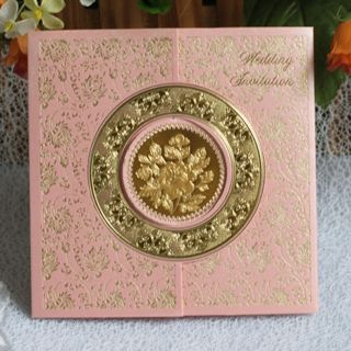 100PINK Favor Invitations Wedding Invitations 5 9x5 9