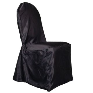 Satin Banquet Chair Cover High Quality for Wedding Shower or Party