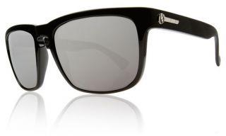 1e5075b8914 ... Electric Knoxville Polarized Sunglasses Gloss Black ve Silver Chrome ...