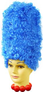 Adult Deluxe Marge Simpson Womens Halloween Costume Wig
