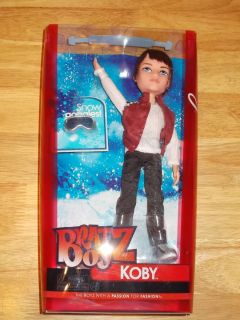 2012 Bratz Boyz Doll Koby Cool Boys Panther w Snow Goggles Hard to