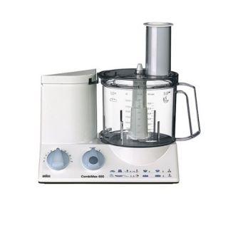 Braun Multiquick 3 K650 Kitchen Machine 600 Watt Food Processor New