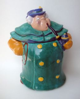 Brayton Laguna Pottery Coachman Candy Cookie Jar Disney Pinocchio 1940
