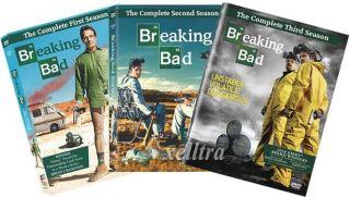 New Breaking Bad The Complete Season 1 2 3 Seasons 1 3