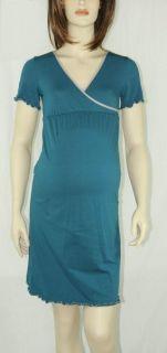 WEEKEND Maternity NURSING PJ PAJAMA XS 2 4 Night Gown Breastfeeding