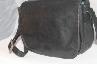 Bree Leather Bag Silver Shoulder Messenger Crossbody Satchel Flap