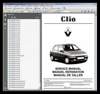 Renault Clio Manual de Taller Workshop Manual Manuel Reparation