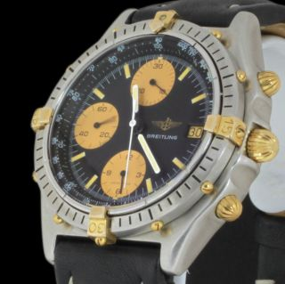 Mens Automatic Breitling Windrider Chronomat Chronograph Watch 81950