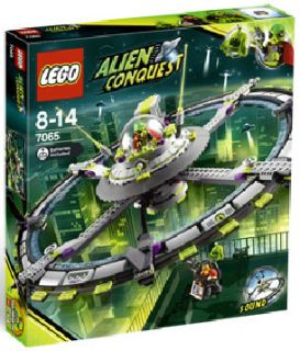 you are looking at lego alien conquest alien mothership 7065 condition