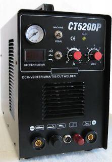 520DP Pilot Arc 50 Amp Plasma Cutter & 200A TIG/ARC/MMA Welder █