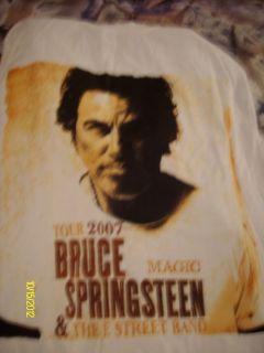 Bruce Springsteen 2007 Tour T shirt