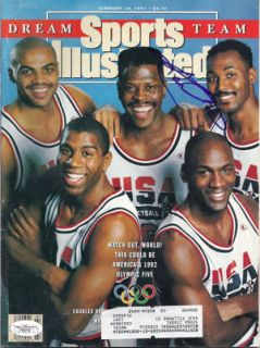 Karl Malone Autographed Dream Team Sports Illustrated